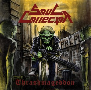 Soul Collector - Thrashmageddon CD