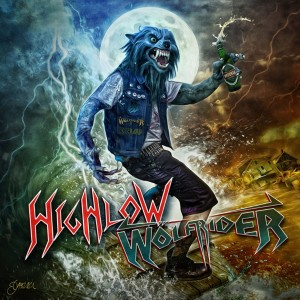 Highlow / Wolfrider - Wolf Riding High & Low Split CD